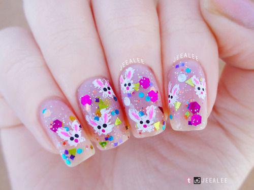 18-Easter-Bunny-Nails-Art-Designs-Ideas-2019-12