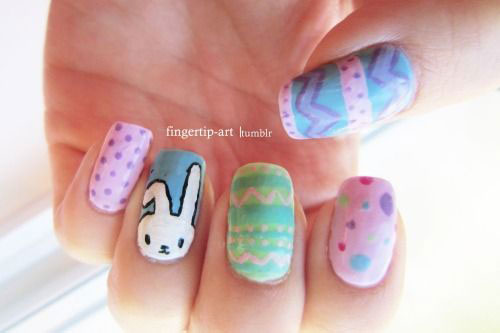 18-Easter-Bunny-Nails-Art-Designs-Ideas-2019-18
