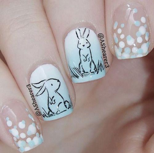 18-Easter-Bunny-Nails-Art-Designs-Ideas-2019-5