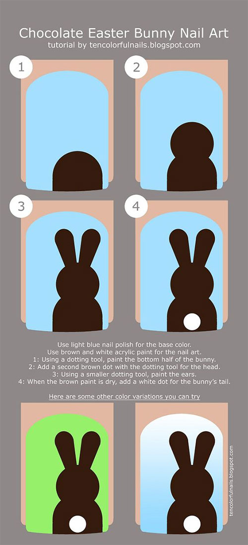 18-Easter-Nail-Art-Tutorials-For-Beginners-Learners-2019-6