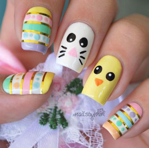 Easter-Gel-Nail-Art-Designs-Ideas-2019-10