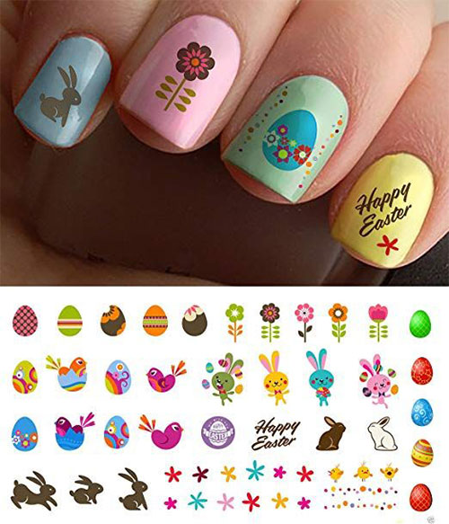Easter-Nail-Art-Stickers-Decals-2019-4