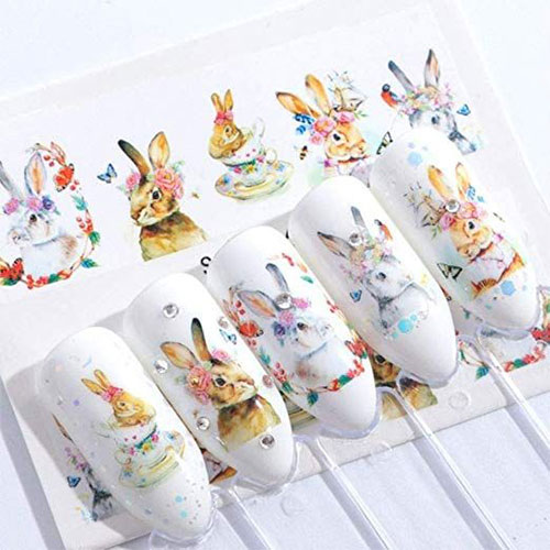 Easter-Nail-Art-Stickers-Decals-2019-7