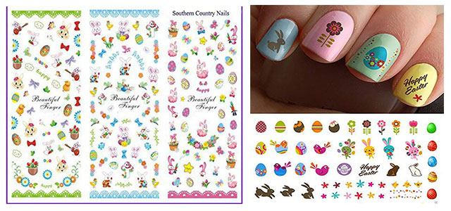 Easter-Nail-Art-Stickers-Decals-2019-F