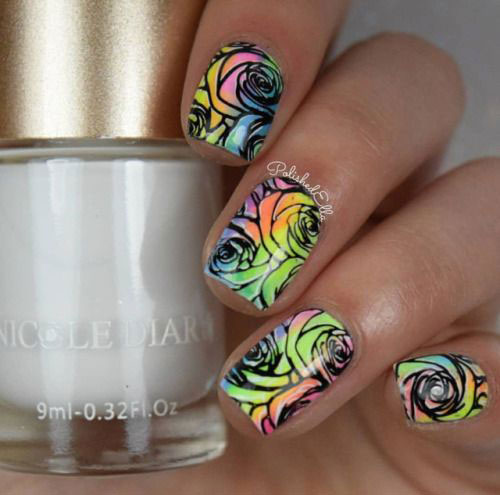 20-Spring-Floral-Nails-Art-Designs-Ideas-2019-1