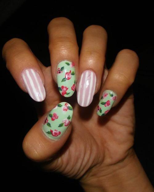 20-Spring-Floral-Nails-Art-Designs-Ideas-2019-10
