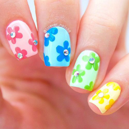 20-Spring-Floral-Nails-Art-Designs-Ideas-2019-15