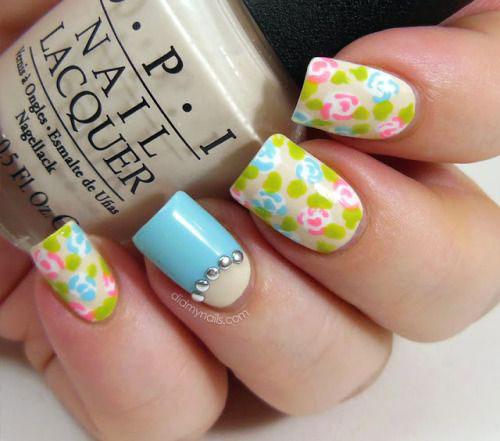 20-Spring-Floral-Nails-Art-Designs-Ideas-2019-18
