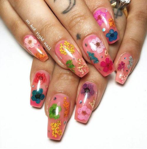 20-Spring-Floral-Nails-Art-Designs-Ideas-2019-19