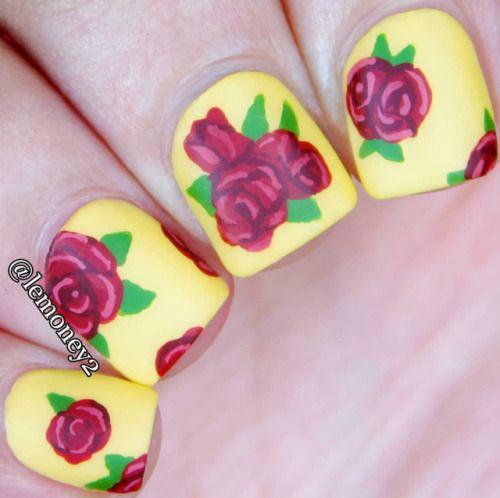 20-Spring-Floral-Nails-Art-Designs-Ideas-2019-3