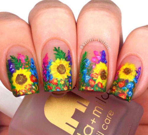 20-Spring-Floral-Nails-Art-Designs-Ideas-2019-4