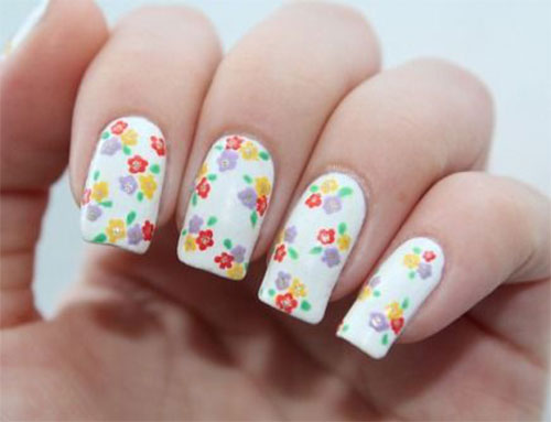 20-Spring-Floral-Nails-Art-Designs-Ideas-2019-5