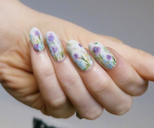 20-Spring-Floral-Nails-Art-Designs-Ideas-2019-9