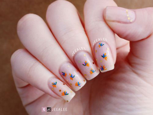 Simple-Easy-Spring-Nails-Art-Designs-Ideas-2019-6