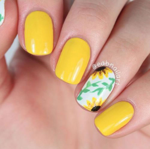Simple-Easy-Spring-Nails-Art-Designs-Ideas-2019-9