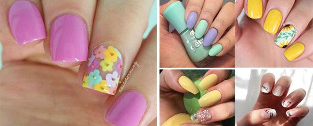 Simple-Easy-Spring-Nails-Art-Designs-Ideas-2019-F