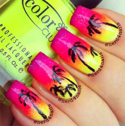 15-Neon-Summer-Nails-Art-Designs-Ideas-2019-12