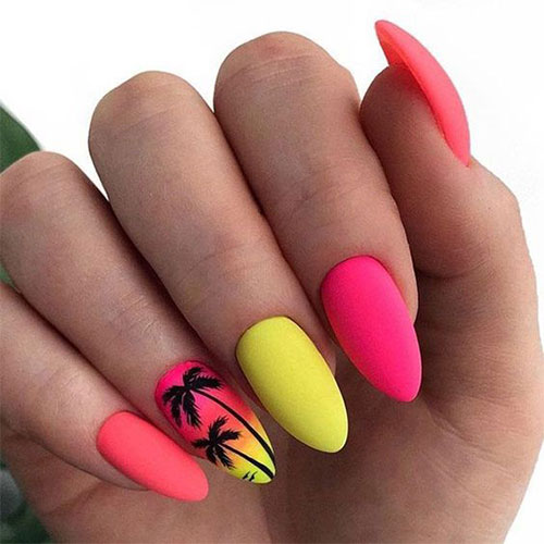 15-Neon-Summer-Nails-Art-Designs-Ideas-2019-13