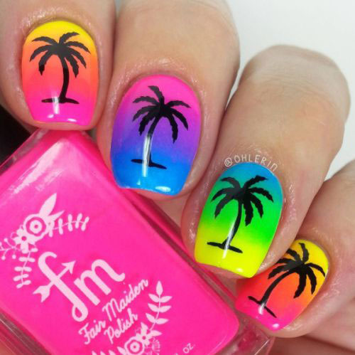 15-Neon-Summer-Nails-Art-Designs-Ideas-2019-2