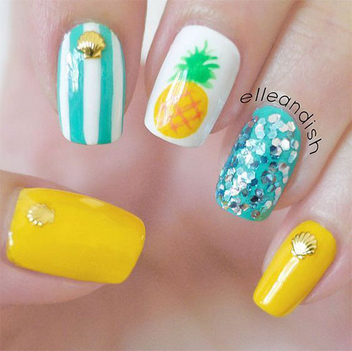 15-Neon-Summer-Nails-Art-Designs-Ideas-2019-6
