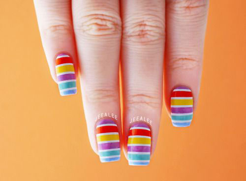 15-Simple-Easy-Summer-Nails-Art-Designs-Ideas-2019-11