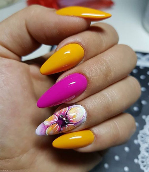 15 Simple & Easy Summer Nails Art Designs & Ideas 2019