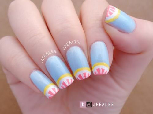 15-Simple-Easy-Summer-Nails-Art-Designs-Ideas-2019-8