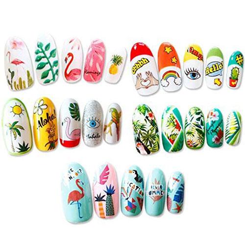 15-Summer-Nails-Art-Decals-Stickers-2019-13