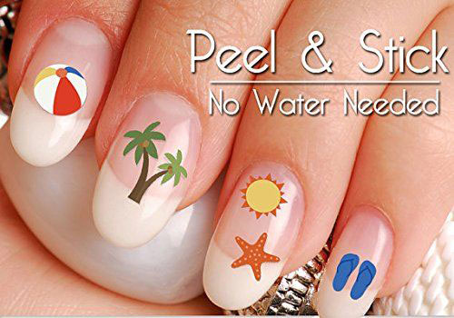 15-Summer-Nails-Art-Decals-Stickers-2019-4