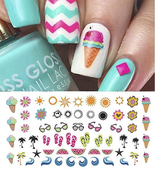 15-Summer-Nails-Art-Decals-Stickers-2019-7