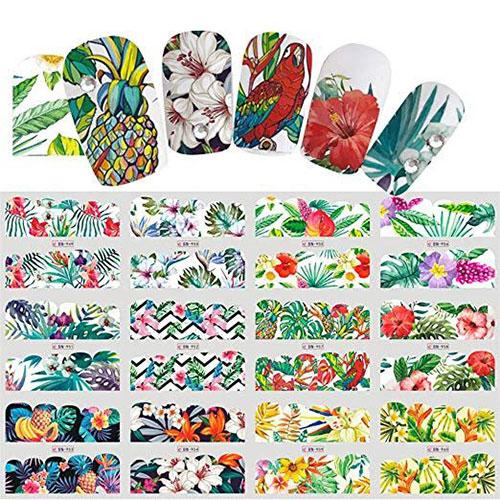 15-Summer-Nails-Art-Decals-Stickers-2019-9
