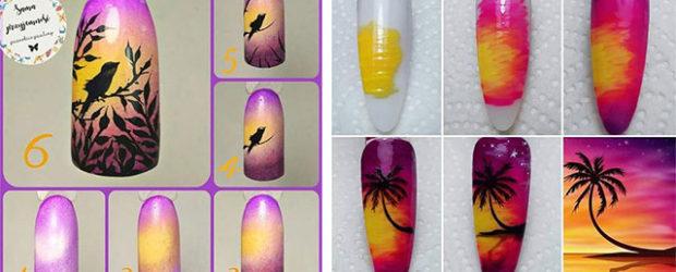 18-Easy-Summer-Nail-Art-Tutorials-For-Beginners-2019-F