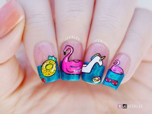 18-Summer-Beach-Nails-Art-Designs-Ideas-2019-1