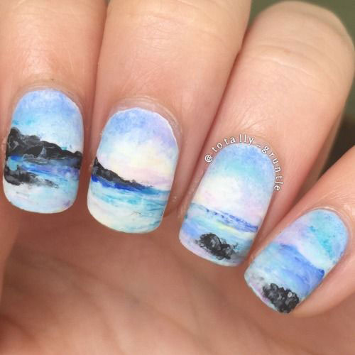 18-Summer-Beach-Nails-Art-Designs-Ideas-2019-11