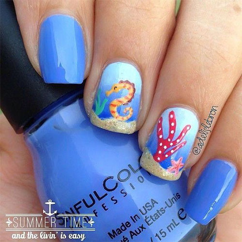 18-Summer-Beach-Nails-Art-Designs-Ideas-2019-15