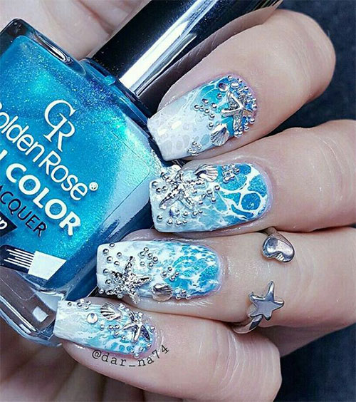 18-Summer-Beach-Nails-Art-Designs-Ideas-2019-17