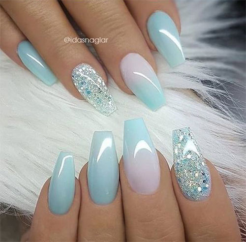 18 Summer Gel Nail Art Designs & Ideas 2019