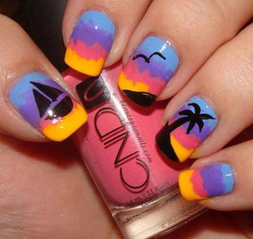 18 Summer Gel Nail Art Designs Amp Ideas 2019 Fabulous