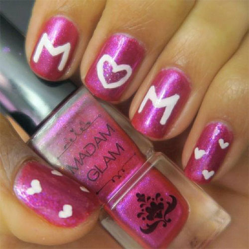 20-Best-Mother's-Day-Nails-Art-Designs-Ideas-2019-1