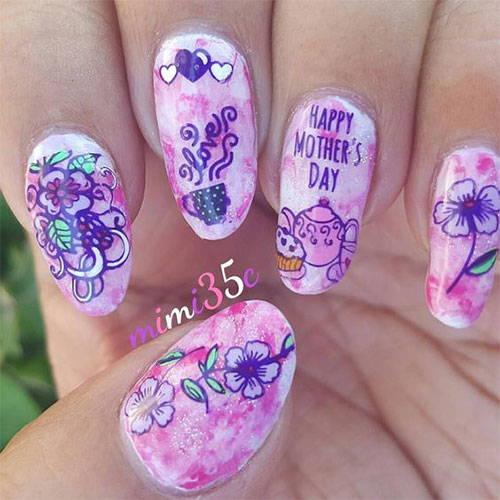 20-Best-Mother's-Day-Nails-Art-Designs-Ideas-2019-10