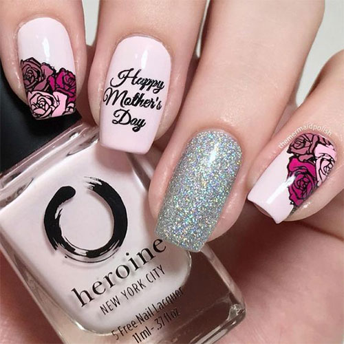 20-Best-Mother's-Day-Nails-Art-Designs-Ideas-2019-12