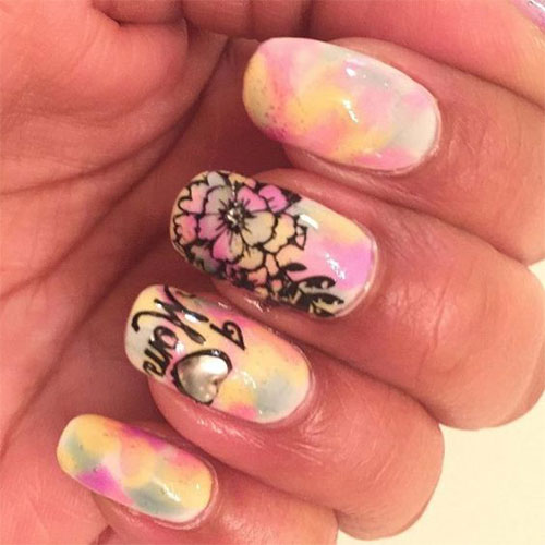20-Best-Mother's-Day-Nails-Art-Designs-Ideas-2019-16