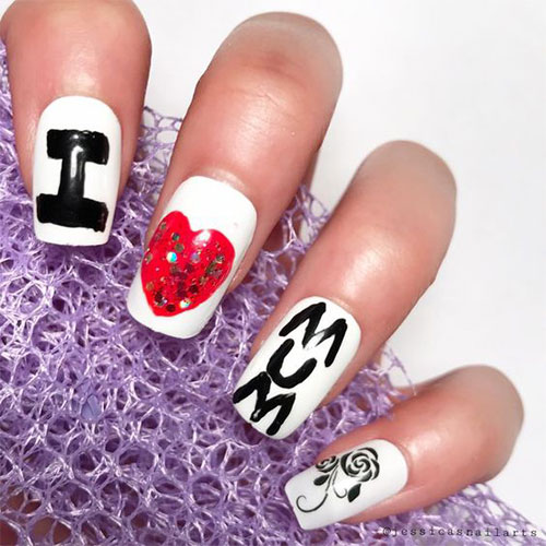 20-Best-Mother's-Day-Nails-Art-Designs-Ideas-2019-17