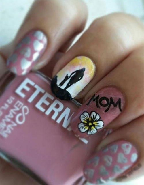 20-Best-Mother's-Day-Nails-Art-Designs-Ideas-2019-19