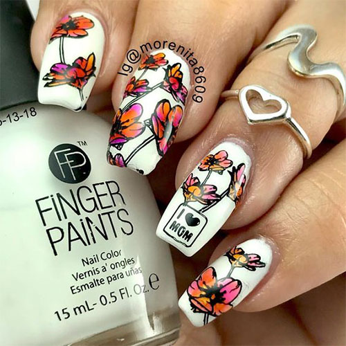 20-Best-Mother's-Day-Nails-Art-Designs-Ideas-2019-3