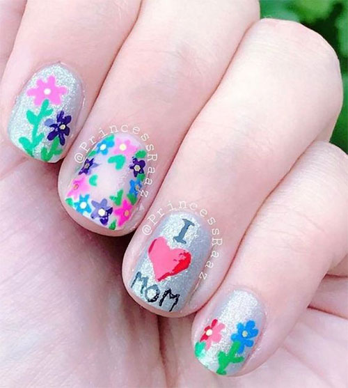 20-Best-Mother's-Day-Nails-Art-Designs-Ideas-2019-5