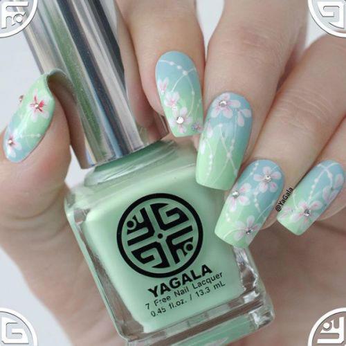 Cherry-Blossom-Spring-Nails-Art-Designs-Ideas-2019-17