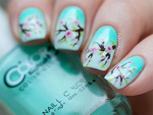 Cherry-Blossom-Spring-Nails-Art-Designs-Ideas-2019-5
