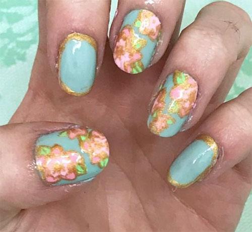 Cherry-Blossom-Spring-Nails-Art-Designs-Ideas-2019-8   Fabulous Nail ...
