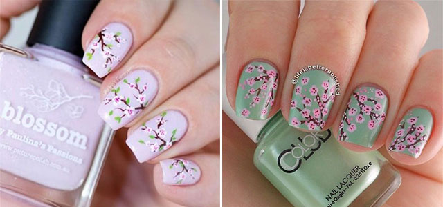 Cherry-Blossom-Spring-Nails-Art-Designs-Ideas-2019-F